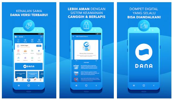 aplikasi dana-dompet digital indonesia