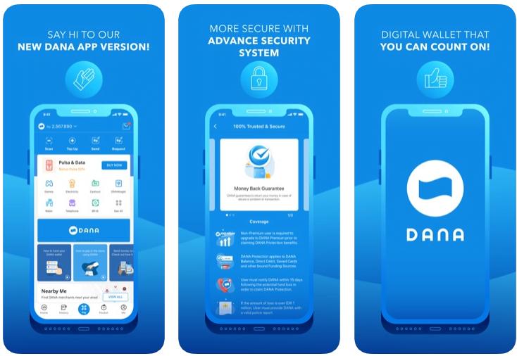 download aplikasi dana-dompet digital indonesia untuk iphone atau ios