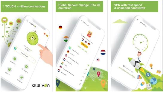 Download Kiwi VPN terbaik