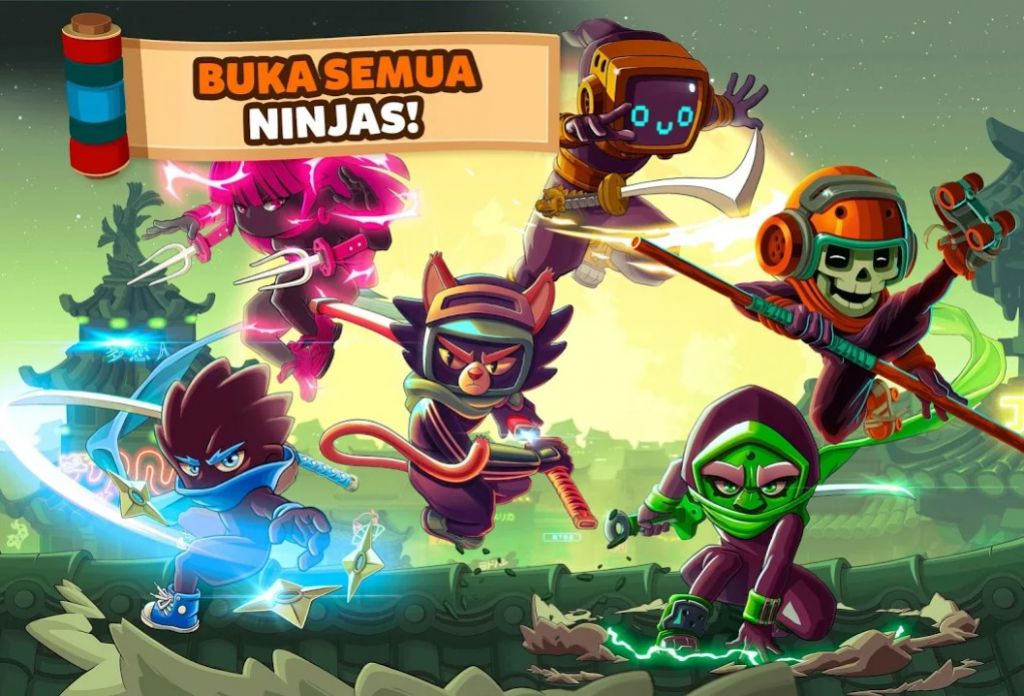 Download Ninja Dash Ronin Shinobi
