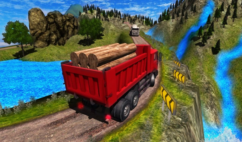 Download Truck Driver Cargo