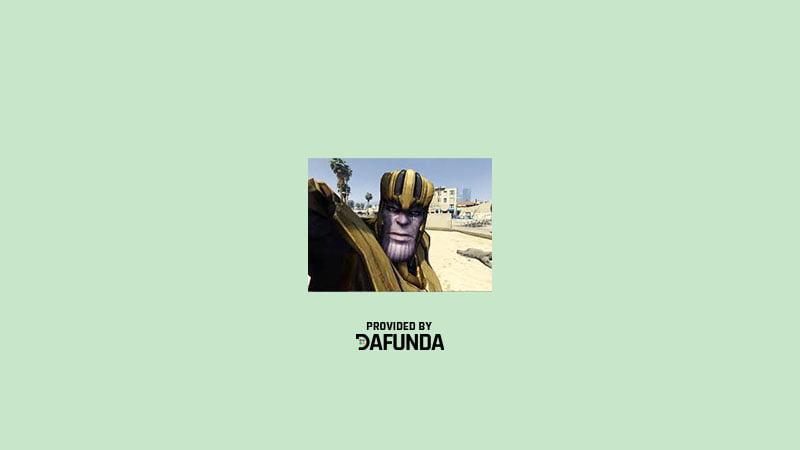 Download MOD Thanos GTA 5