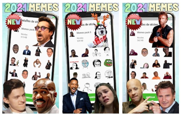 Download New Memes 2021 Stickers